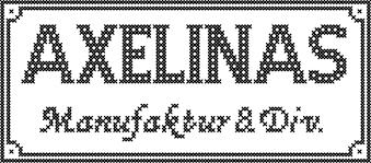 Text Axelinas Manufaktur & Div.