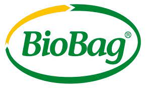 Text BioBag omgiven av en grön cirkel