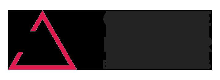 Triangel med text Changemaker Educations