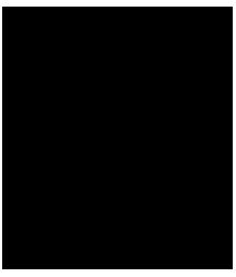 En svart kub