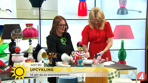 Cecilia Davidsson Berg och Jenny Strömstedt skapar en smyckesgömma